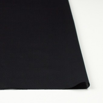 コットン×無地(ブラック)×ボイルジャガード_全6色 サムネイル3