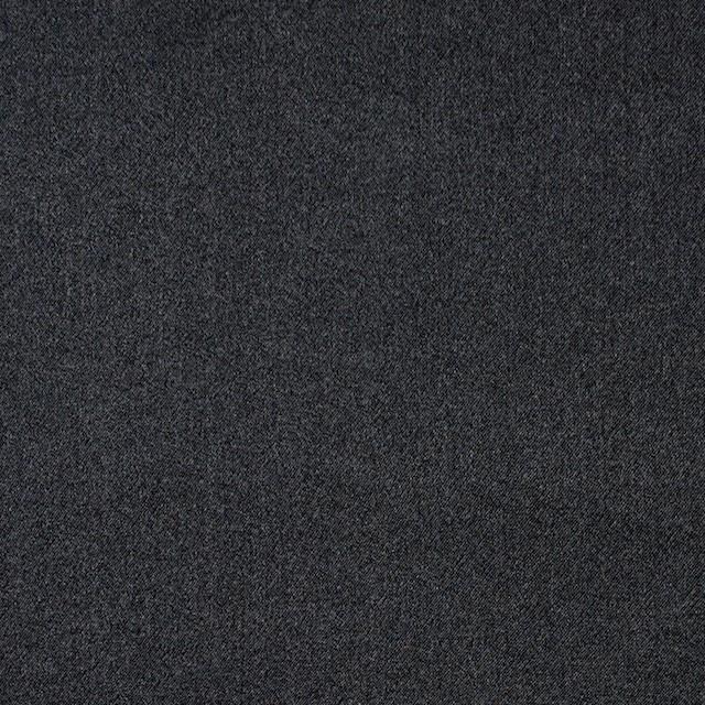 シルク×無地(チャコールブラック)×サテン_全5色 イメージ1