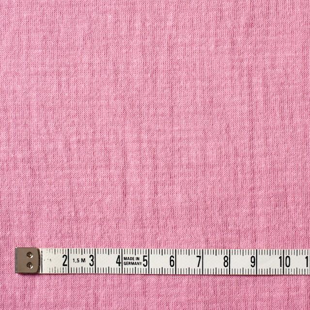 コットン×無地(ピンク)×Wニット_全6色(シリーズ1) イメージ4