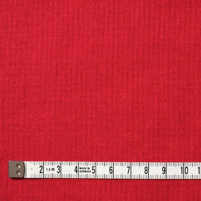 コットン×無地(レッド)×Wニット_全6色(シリーズ1) イメージ4