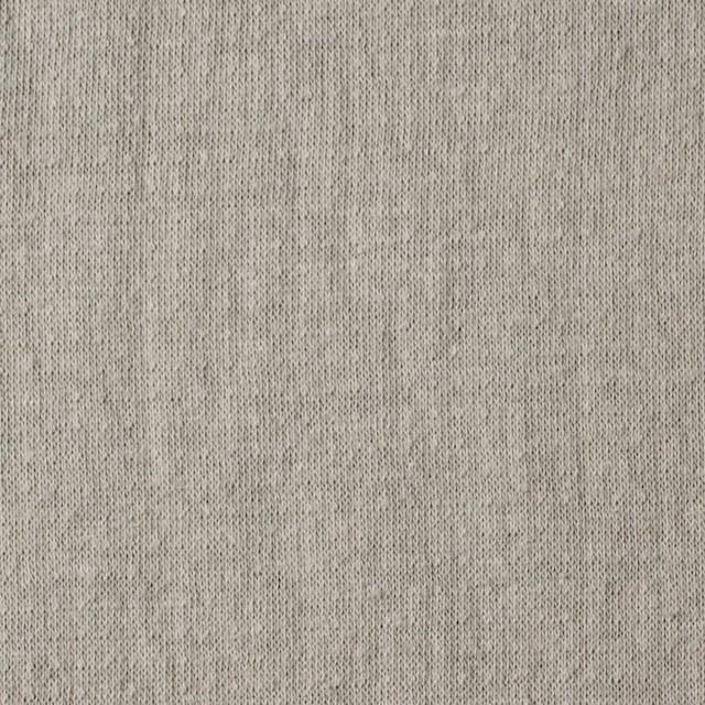 コットン×無地(アッシュベージュ)×Wニット_全4色(シリーズ2) イメージ1