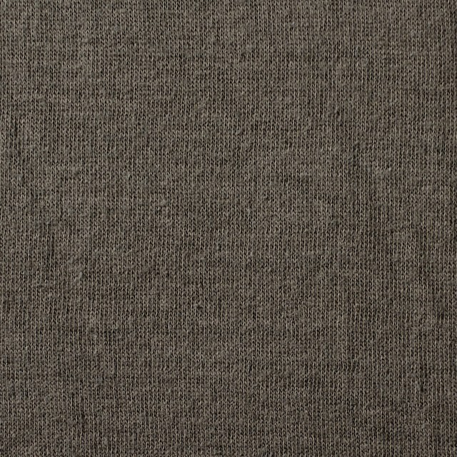 コットン×無地(ベージュグレー)×Wニット_全4色(シリーズ2) イメージ1