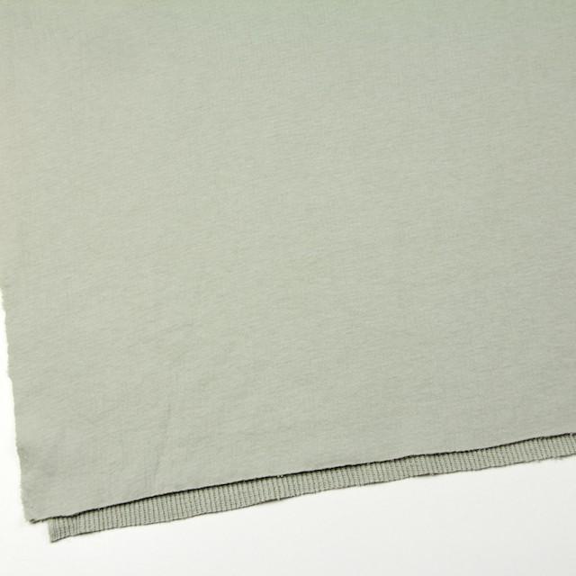 コットン×無地(アトモスグリーン)×Wニット_全5色(シリーズ3) イメージ2