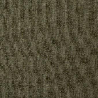 コットン×無地(カーキグリーン)×Wニット_全5色(シリーズ3) サムネイル1