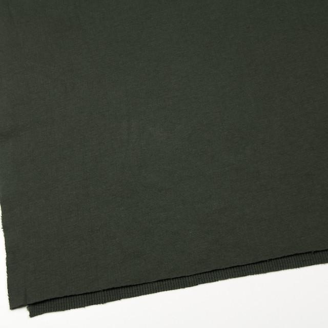 コットン×無地(モスグリーン)×Wニット_全5色(シリーズ3) イメージ2