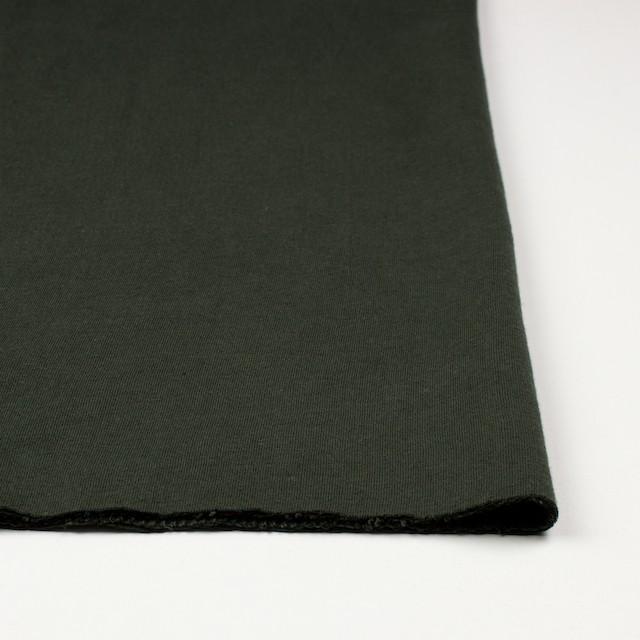コットン×無地(モスグリーン)×Wニット_全5色(シリーズ3) イメージ3