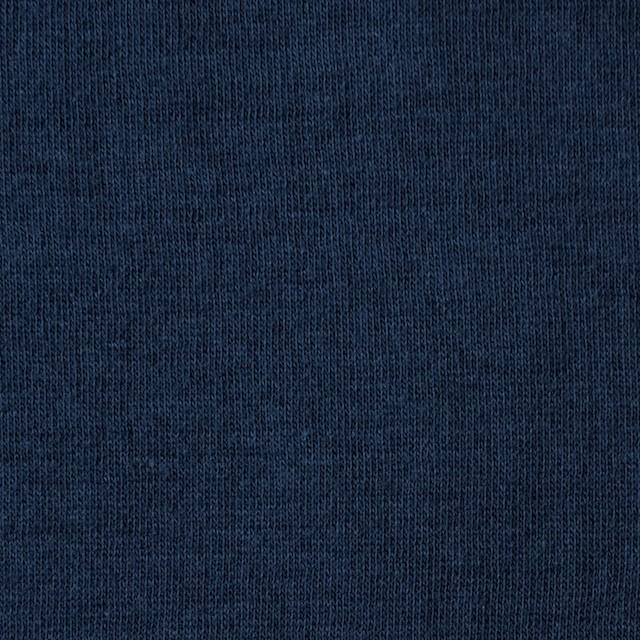 コットン×無地(アイアンブルー)×Wニット_全6色(シリーズ4) イメージ1