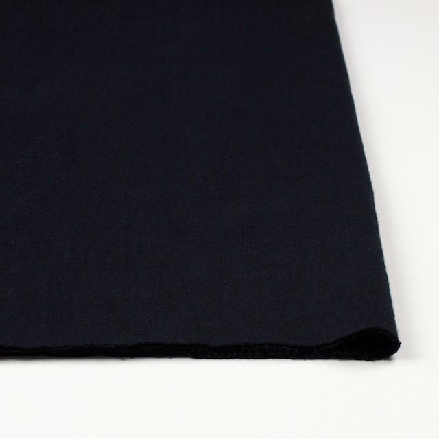 コットン×無地(ブラック)×Wニット_全6色(シリーズ4) イメージ3