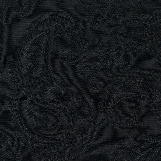 コットン×ペイズリー(ブラック)×ジャガード イメージ1