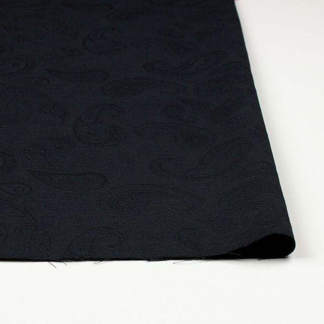 コットン×ペイズリー(ブラック)×ジャガード イメージ3