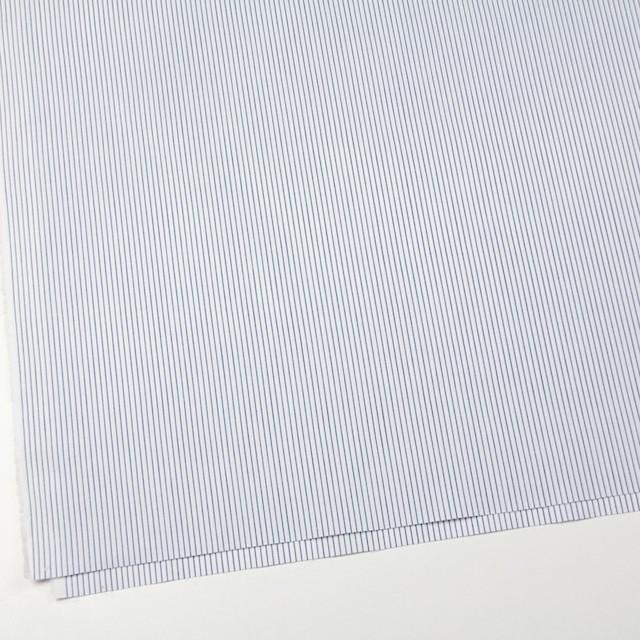 コットン×ストライプ(ブルー)×ブロード イメージ2