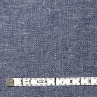 コットン&リネン×無地(ブルー)×シャンブレー サムネイル4