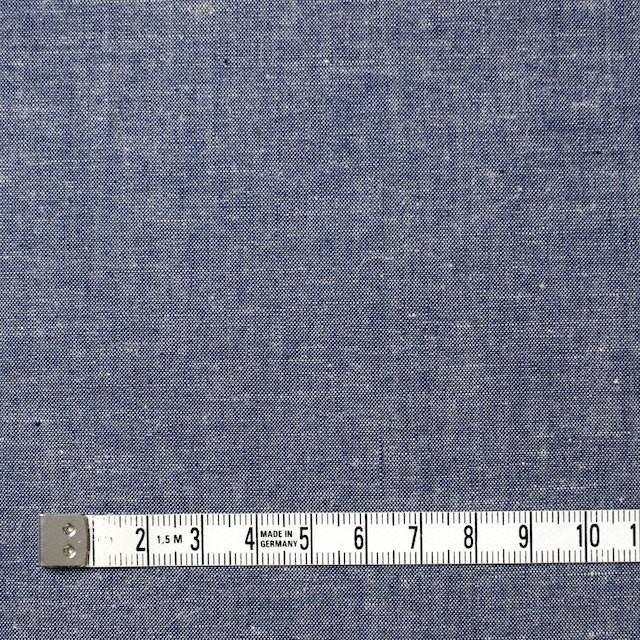 コットン&リネン×無地(ブルー)×シャンブレー イメージ4