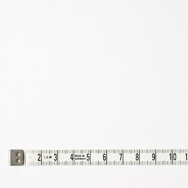 コットン×無地(オフホワイト)×薄サージ イメージ4