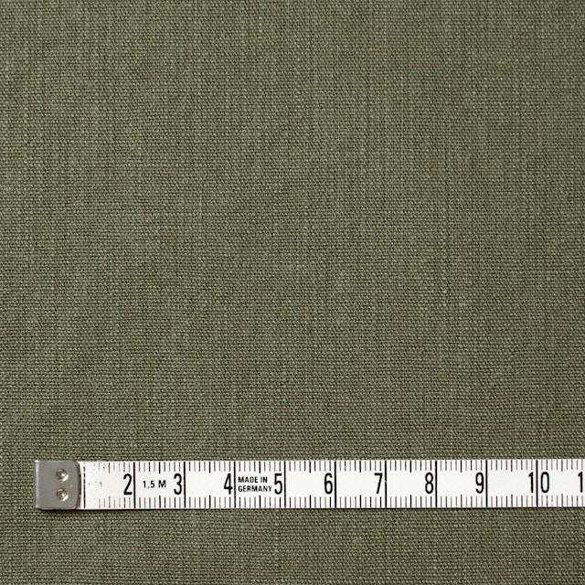 コットン×無地(カーキグリーン)×キャンバス イメージ4