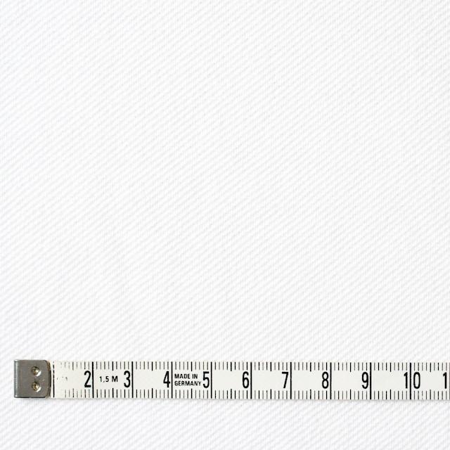 コットン×無地(ホワイト)×鹿の子ニット イメージ4