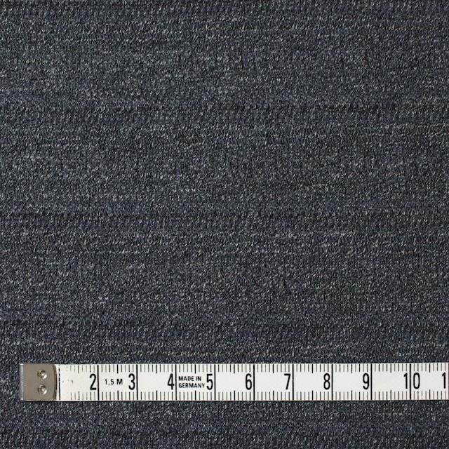 リヨセル&コットン×無地(チャコールグレー)×ジャガードニット イメージ4