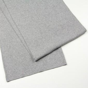 コットン×無地(グレー)×丸編みリブニット_全3色 サムネイル2