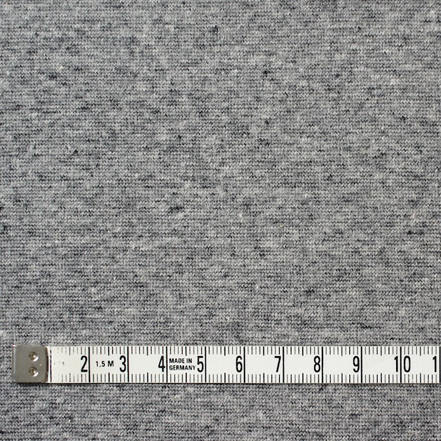 コットン×無地(杢グレー)×フライスニット イメージ4