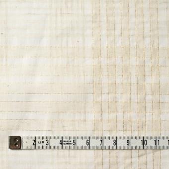コットン&リネン混×マドラスチェック(キナリ)×ローン_全3色 サムネイル4