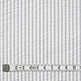 コットン×ストライプ(ライトグレー)×サッカー_全4色 サムネイル4