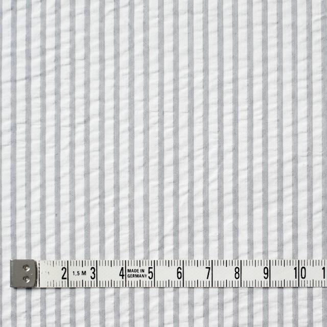 コットン×ストライプ(ライトグレー)×サッカー_全4色 イメージ4