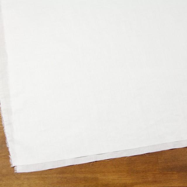 コットン&リネン×無地(オフホワイト)×薄サージワッシャー_全4色 イメージ2