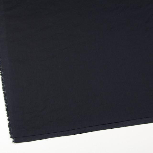 コットン&リネン×無地(ブラック)×薄サージワッシャー_全4色 イメージ2