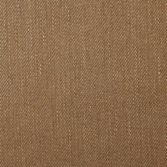 リネン&コットン混×無地(オークル)×サージストレッチ_全4色 サムネイル1