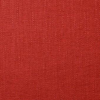 リネン&コットン混×無地(トマト)×サージストレッチ_全4色 サムネイル1