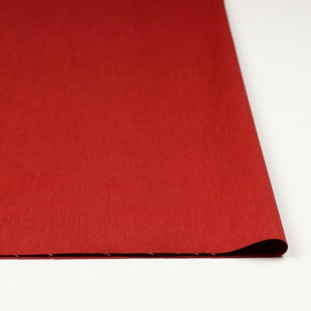 リネン&コットン混×無地(トマト)×サージストレッチ_全4色 イメージ3