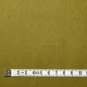 リネン&コットン混×無地(アボカド)×サージストレッチ_全4色 サムネイル4