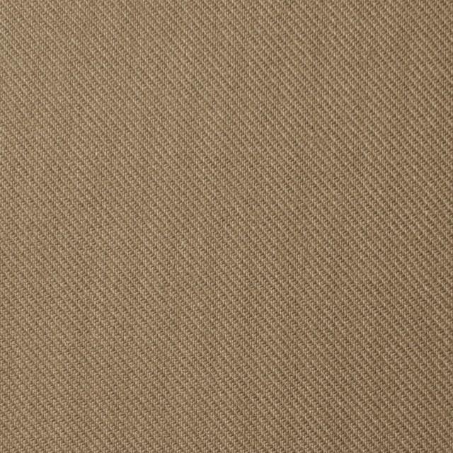 コットン×無地(カーキベージュ)×サージ_全4色 イメージ1