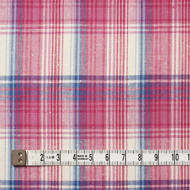 コットン×チェック(ピンク&ブルー)×ポプリン_全2色 イメージ4