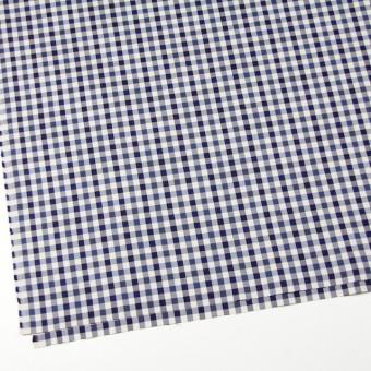 コットン×チェック(ブルーミックス)×サージ_全3色 サムネイル2