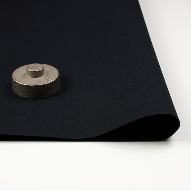コットン×無地(ブラック)×7号帆布(パラフィン加工)_全6色 イメージ2