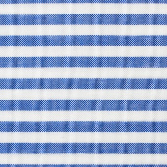 コットン×ボーダー(ブルー)×オックスフォード_全3色 サムネイル1