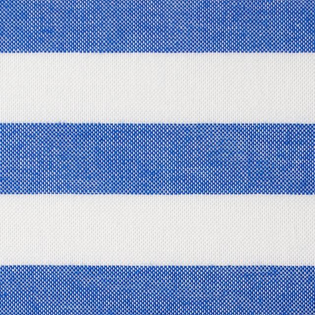 コットン×ボーダー(ブルー)×オックスフォード_全3色 イメージ1