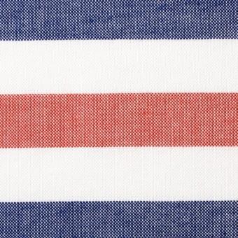コットン×ボーダー(トリコロール)×オックスフォード_全3色 サムネイル1