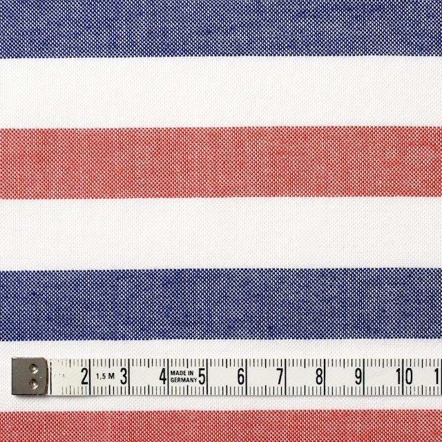 コットン×ボーダー(トリコロール)×オックスフォード_全3色 イメージ4