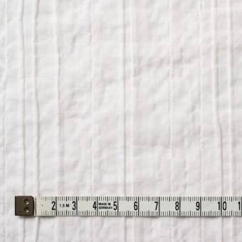 コットン&ポリウレタン×無地(オフホワイト)×ガーゼ・タテタック_全3色 サムネイル4