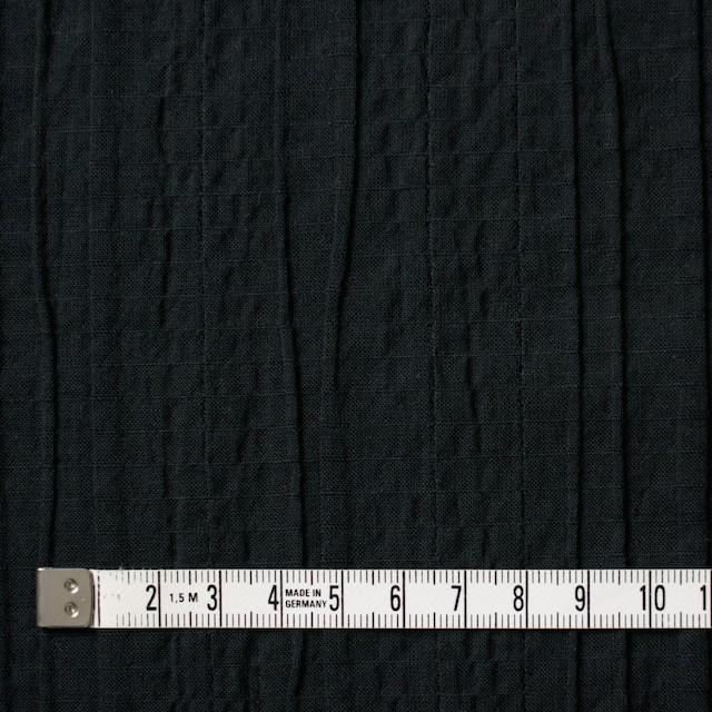 コットン&ポリウレタン×無地(ブラック)×ガーゼ・タテタック_全3色 イメージ4