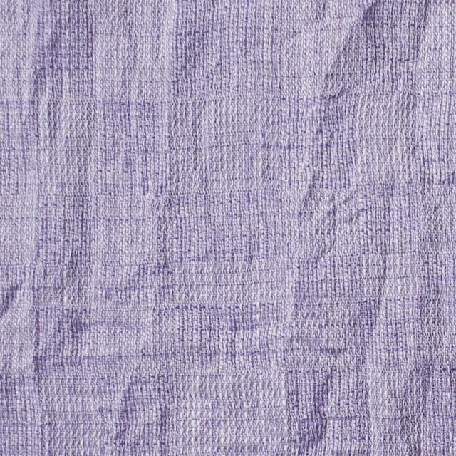 コットン&テンセル×無地(グレープ)×ガーゼ_全2色 イメージ1
