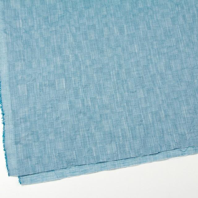コットン&テンセル×無地(エメラルドブルー)×ガーゼ_全2色 イメージ2