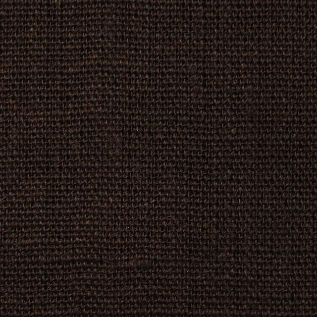リネン×無地(ダークブラウン)×キャンバス イメージ1