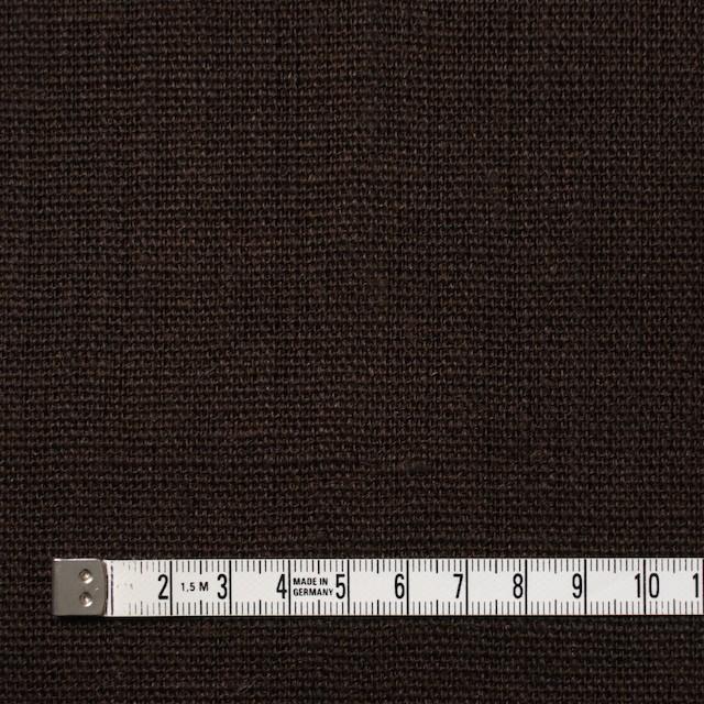 リネン×無地(ダークブラウン)×キャンバス イメージ4