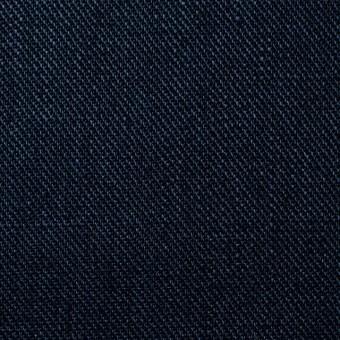 リネン×無地(ネイビー)×カツラギ サムネイル1
