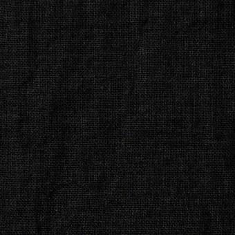 リネン×無地(ブラック)×薄キャンバス サムネイル1