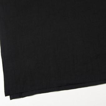 リネン×無地(ブラック)×薄キャンバス サムネイル2