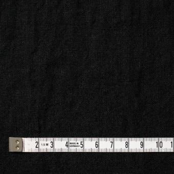リネン×無地(ブラック)×薄キャンバス サムネイル4